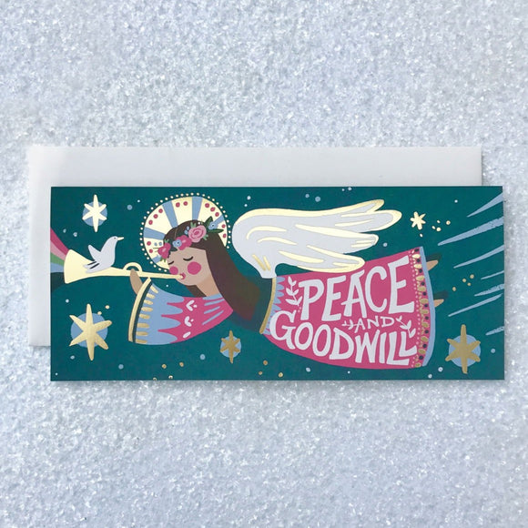 Peace Angel Card