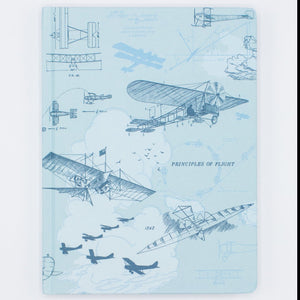 Dot Grid Journal - Aviation Early Flight