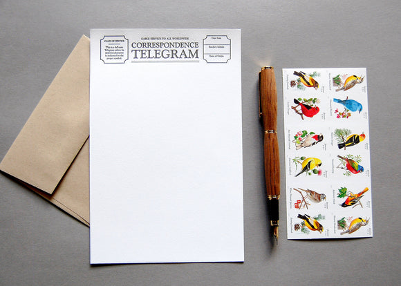 Letter Writing Kit (Telegram)