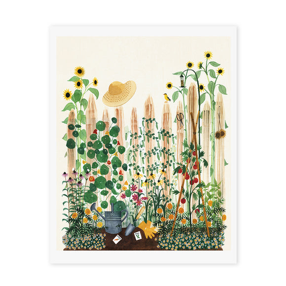 Mother's Garden Art Print
