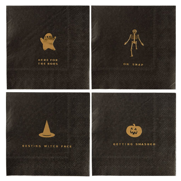 Halloween Cocktail Napkins