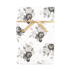 Floral Gold Foil Wrap Sheets