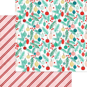 Jingle All The Way 12 x 12 Paper - Ornaments Galore