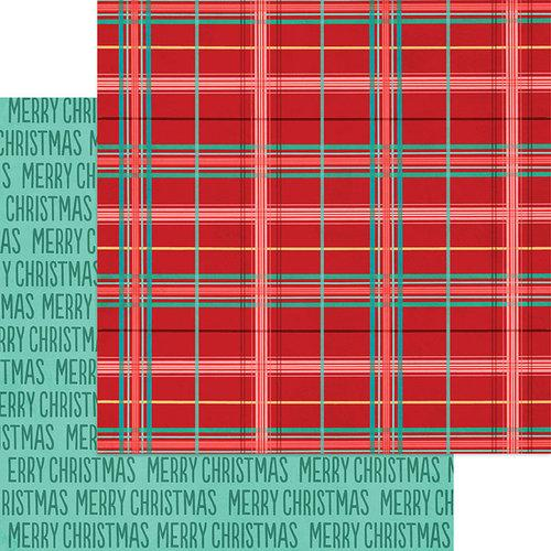 Jingle All The Way 12 x 12 Paper - Plaid Tidings
