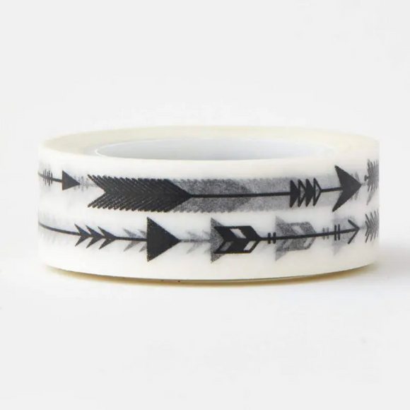 Black Arrow Washi Tape