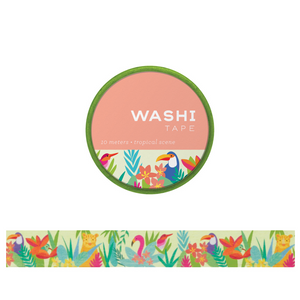 Tropical Scene Washi Tape