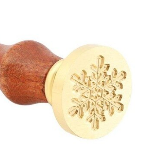 Wax Seal Stamp - Simple Snowflake