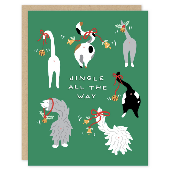 Jingle Cats Card - Set of 8