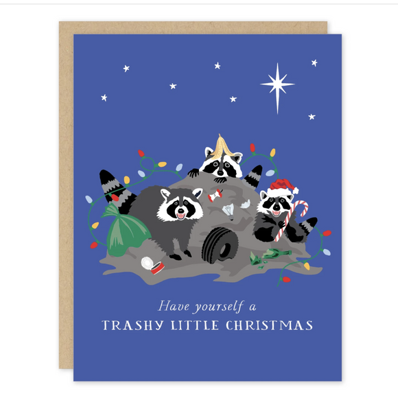 Trashy Little Christmas Card