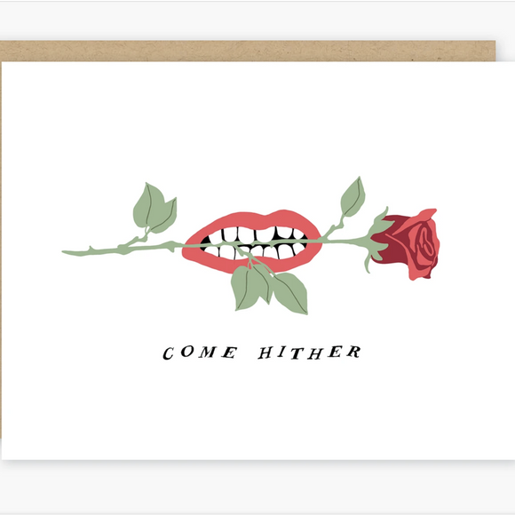 Come Hither Card