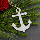 Anchor Metal Ornament