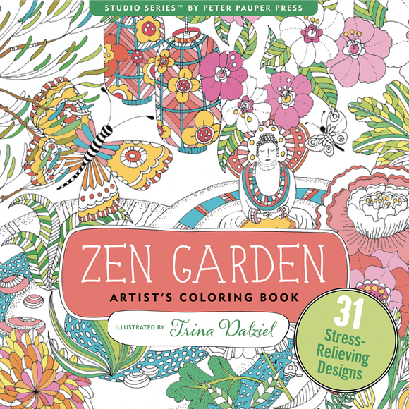 Zen Garden Coloring Book