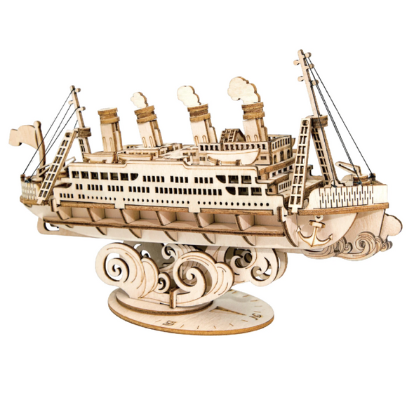 Cruise Ship DIY Wooden Puzzle