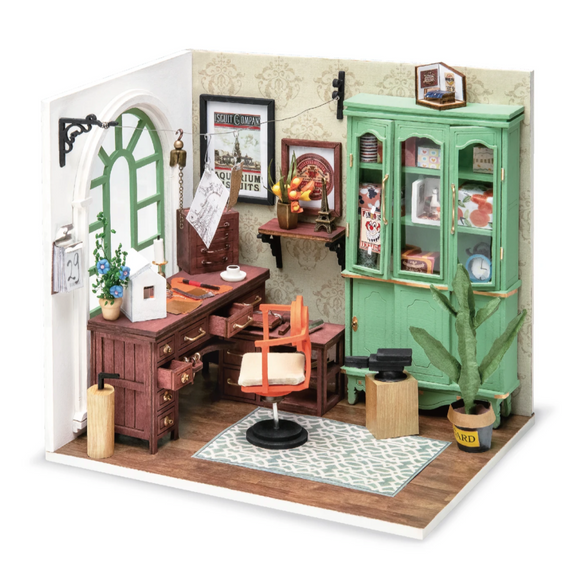 Jimmy's Studio DIY Miniature Dollhouse Kit