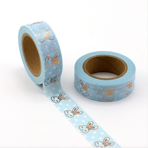 Happy Bunny Faces Washi Tape