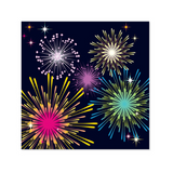 Fireworks Celebrations Treasures Pop-up Card