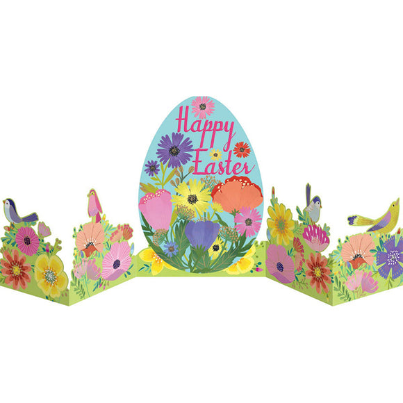 Easter Egg Fold Out Card