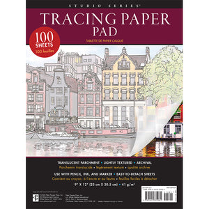 "Tracing Paper Pad (9"" x 12"")"