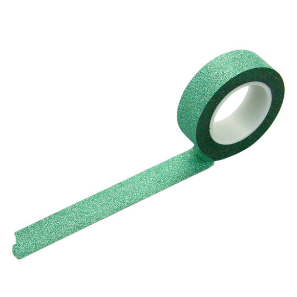 Glitter Washi Tape - Green