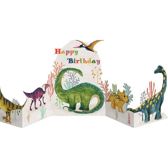 Dinosaur Fold Out Card