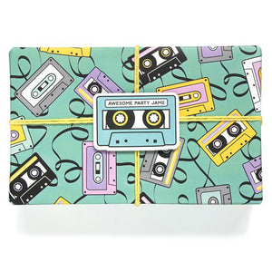 Mixtape Wrapping Paper Roll