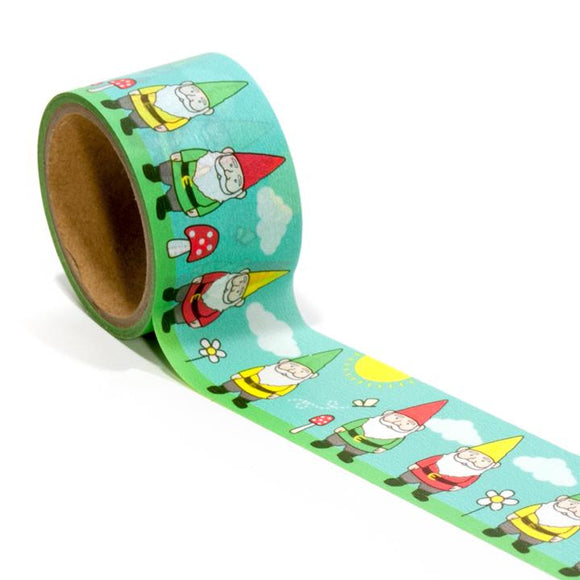 Garden Gnome Washi Tape