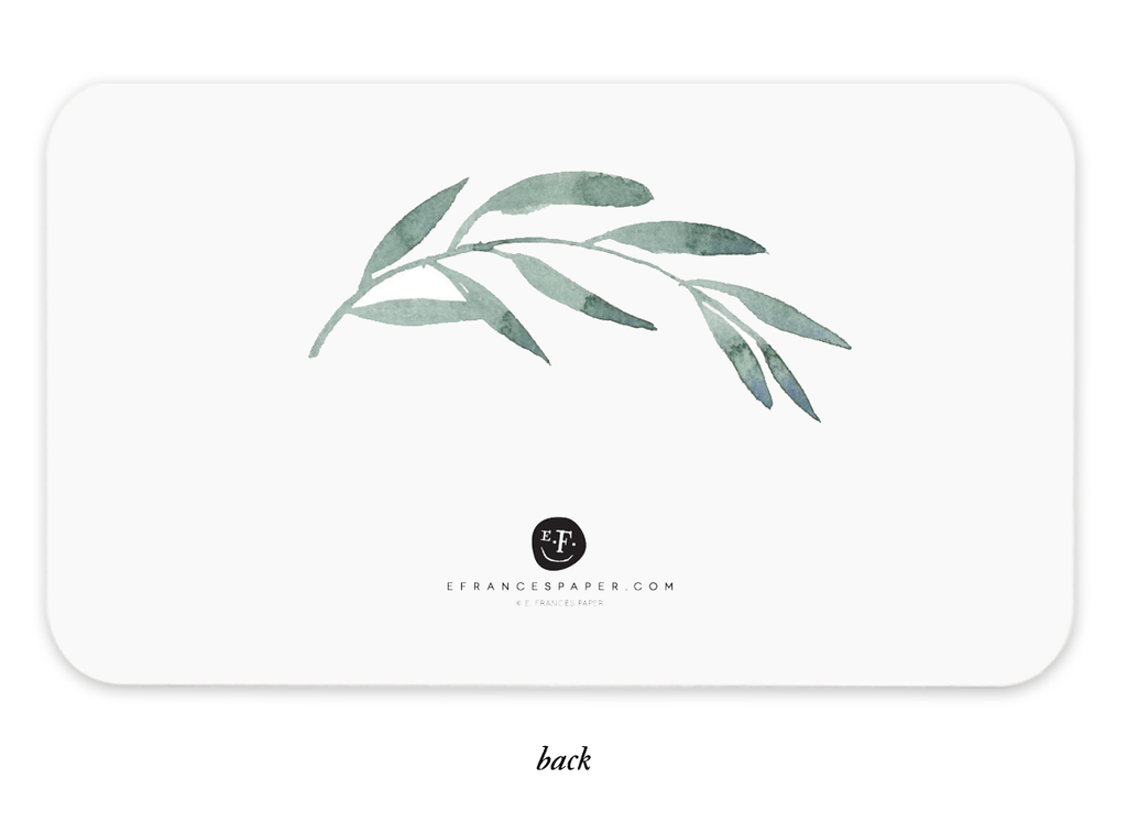 Olive Branches Little Notes