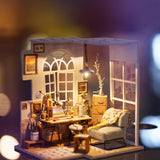 SOHO Time DIY Miniature Dollhouse Kit