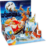 Santa's Sleigh Ride Treasures Pop-up Card