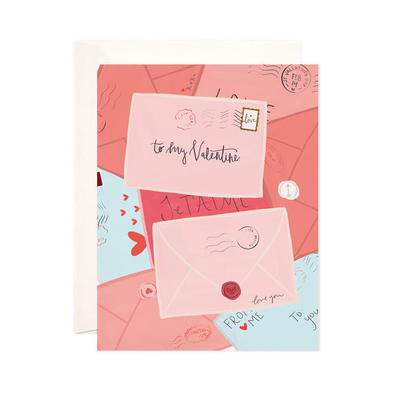 Valentine's Day Mail Greeting Card (Boxed set of 8)