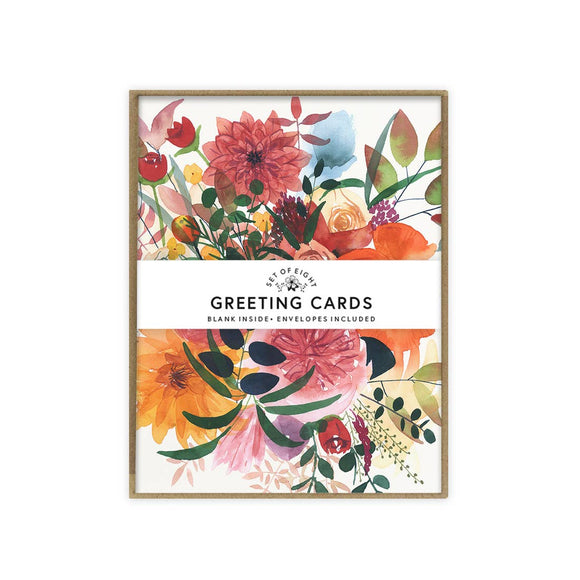 Autumn Gathering Card - Set of 8