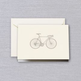 Engraved Racing Bike Note