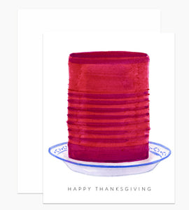 Thanksgiving Cranberry Card