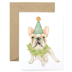 Birthday Bulldog Card
