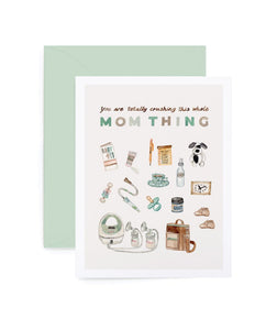 Mom Thing Card