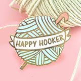 Happy Hooker Enamel Pin
