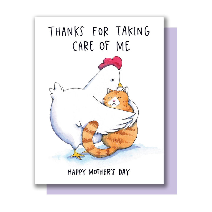 Thanks For Taking Care of Me, Happy Mother's Day Card