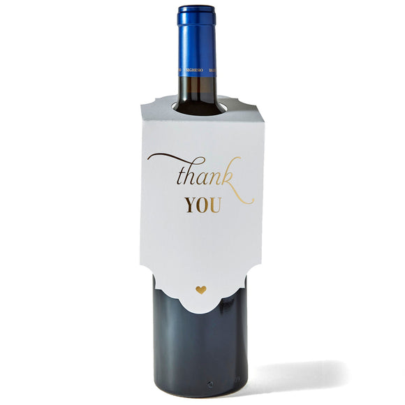 Wine Tag - Thank you