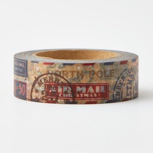 Santa Mail Washi Tape