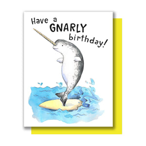 Have a Gnarly Birthday Card
