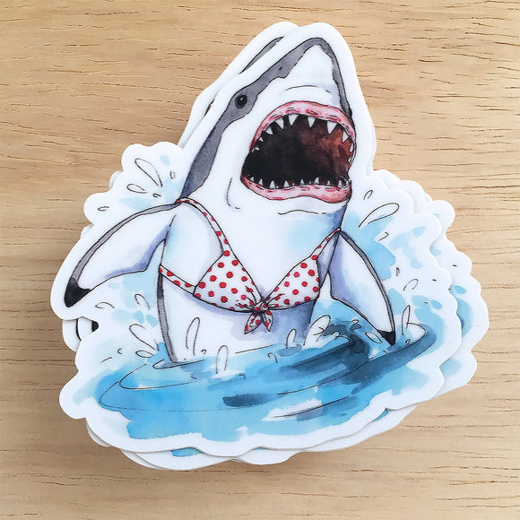Shark Vinyl Sticker