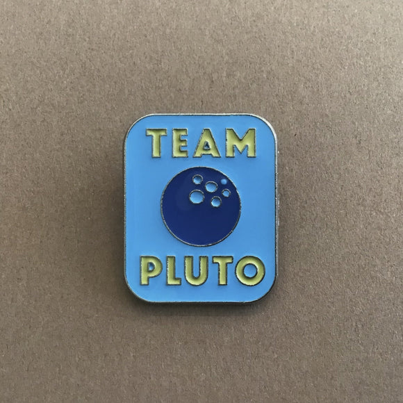 Team Pluto Enamel Pin