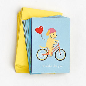 Wheeled Critter Valentines
