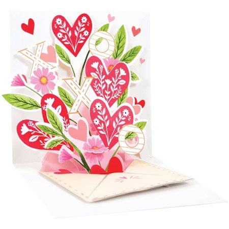 Heart Envelope Pop-up Card