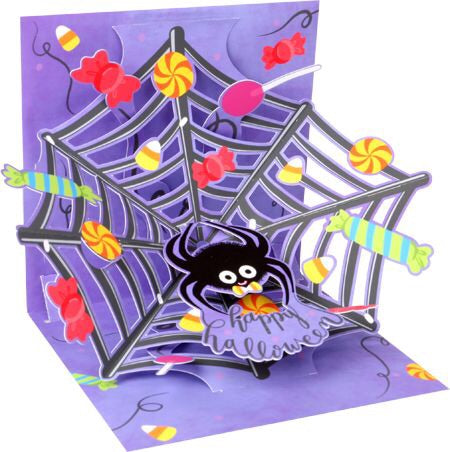 Happy Halloween Web Treasures Pop-up Card