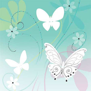 Floating Butterflies Treasures Pop-up Card