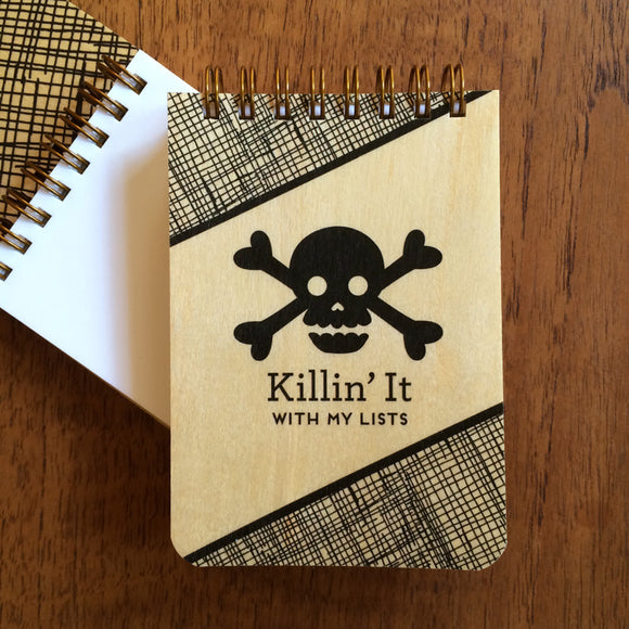 Mini Jotter Notebook - Killin' It