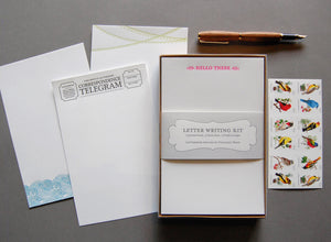 Letter Writing Kit (red arrows)