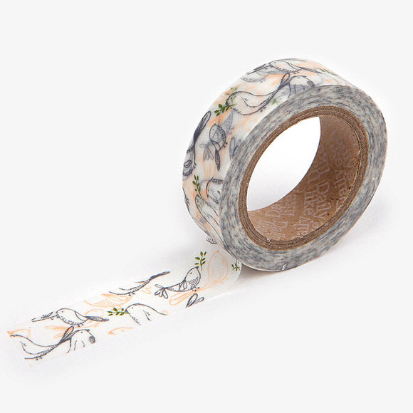 Murmur Bird Washi Tape
