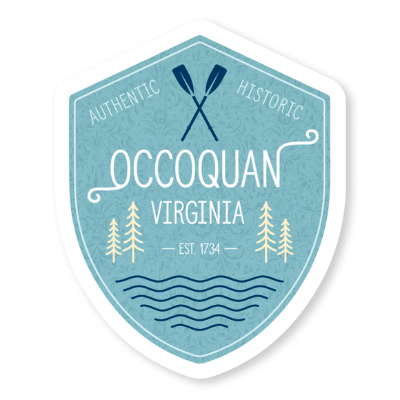Occoquan Crest Sticker